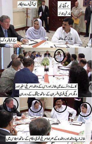 Malala and Co Meeting Americanso....